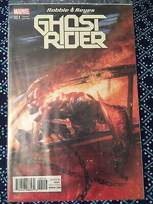 Ghost Rider #1 Gabrielle Dell Otto Color Variant Marvel.  Polybagged.  NM