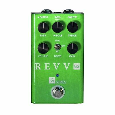 Revv Amplification G2 Distortion/Overdrive Pedal. Brand New! Authorised Dealer!