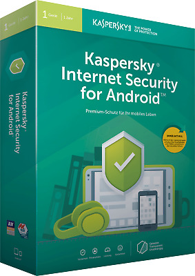 KASPERSKY INTERNET SECURITY for ANDROID 2019 - 1 Device -Global Key- [360 Days]
