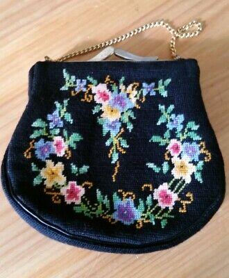 Vintage Tapestry Hand Bag made in South Australia