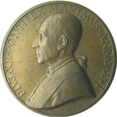 MEDAL - Pope Pius XII - Year XVI of the Pontificate 1954 - VATICAN CITY - commem