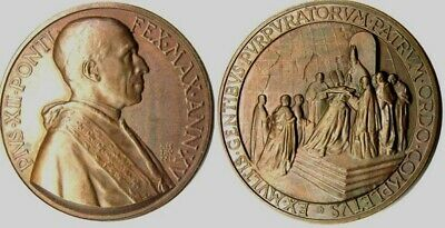 MEDAL - Pope Pius XII - XV Year 1953 - VATICAN CITY - 1953 Consistory - bronze
