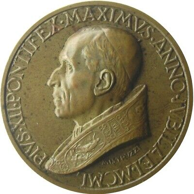 MEDAL - Pope Pius XII - Year XII 1950 - VATICAN CITY - Dogma Assumption - br UNC
