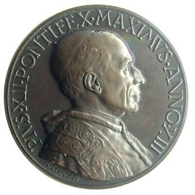 MEDAL - Pope Pius XII - Year XIII of 1951 - Beatification of Pius X - bronze UNC