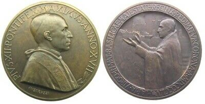 MEDAL - Pope Pius XII - Year XVII 1955 - VATICAN CITY - Marian Year - bronze UJC