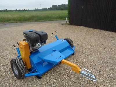 ATVQuad Flail Mower AT120 Electric start 12 month warranty FREE DELIVERY Vat inc