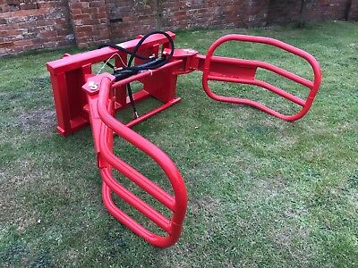 Bale Grab/Squeeze With Manitou Brackets Telehandler  Teleporter