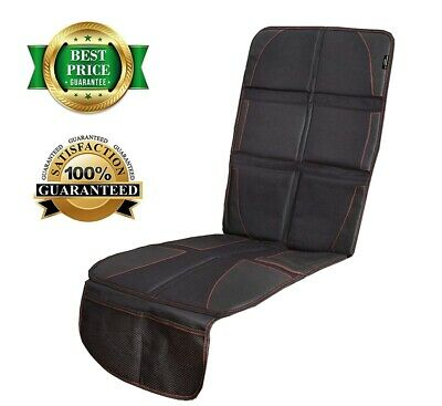 Car Seat Protector w/Thickest Padding Cover Protects Automotive Vehicle Leather