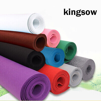 5Metres x 450mm Roll Sticky Back Self Adhesive Felt Fabric Baize Non-woven Craft