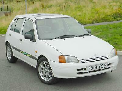 1996 (P) Toyota Starlet 1.3 Cd Auto 5Dr ++With Sunroof & Alloys++S/History