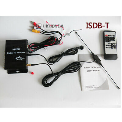 Car ISDB-T Digital TV Tuner Receiver Box For Brazil Chile Peru Argentina
