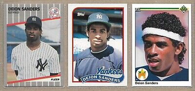 1990 TOPPS #61 Deion Sanders Rc Lot Of 80 Mint B188276