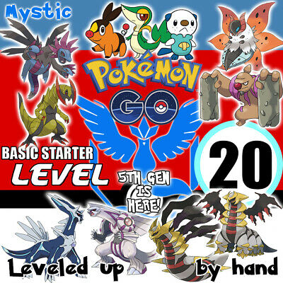Pokemon-Go-Lv-20 Account Hand Made! Rayquaza Mystic Email Changeable