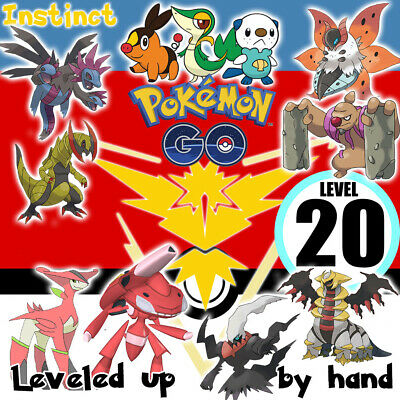 Pokemon-Go-Lv-20 Account Hand Made! Rayquaza Valor Email Changeable