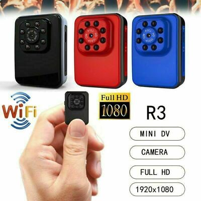 R3 Mini Telecamera Nascosta Spy Cam Camera Spia Wifi Sorveglianza Full Hd 1080P