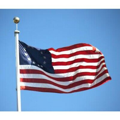 Betsy Ross 3x5 ft Poly Banner Flag- 13 Stars 1776 American Colonial