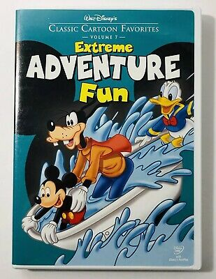 Walt Disneys Classic Cartoon Favorites   Volume 7  Extreme Adventure Fun