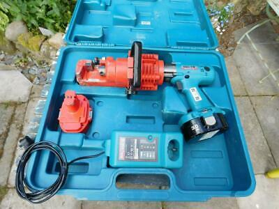 Used Ogura Makita ORC-19 18v Portable Rebar Bar Cutter Rescue Tool