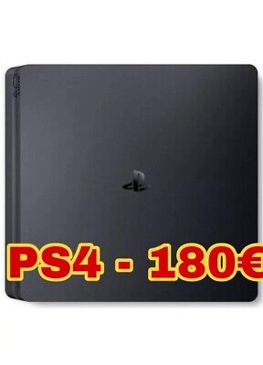 SONY PS4 PLAYSTATION 500GB CONSOLE + Giochi (Fifa 19, COD Black Ops 3) NO JOYPAD