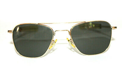 Vintage AO American Optical 12K GF Gold Filled Aviator Sunglasses