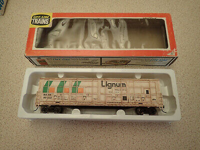 HO Gauge Thrall Box Car Lignum MIB Weathered Possibly Life-Like Trains