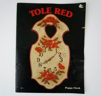 Tole Red Decorative Painting by Color Craft Publishing 1976