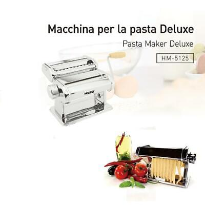 MARCATOOtello Macchina per la Pasta Manuale Limited EditionSky Chrome