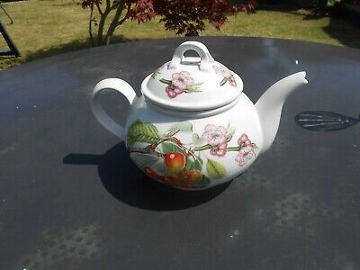 Portmerion teapot  6 inches high 18.5 inches round vintage VGC