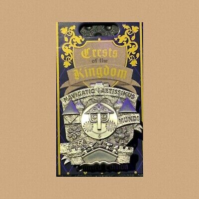 """Disney Parks Crest of the Kingdom  """"It's a small world"""" Pin"""