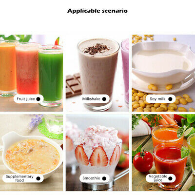 Smoothie Blender USB Rechargeable Juicer Fruit Mixing Machine Travel Portable
