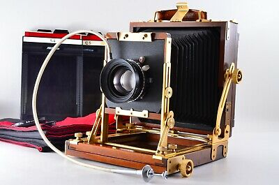 【T MINT】 NAGAOKA SEISAKUSHO 4x5 Wood Large Format Symmar-s 150mm F5.6 From Japan