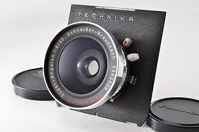 【N MINT】 Schneider TECHNIKA Super Angulon 90mm F8 Wide angle Lens From JAPAN 754
