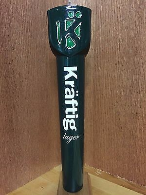 *NEW in BOX* Kraftig Lager Tap Handle (W.K. Busch Brewery - St Louis,MO)