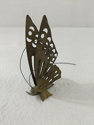 Vintage Brass Butterflies Metal Wall Decor Decorations Art Wall Hanging 3D E24