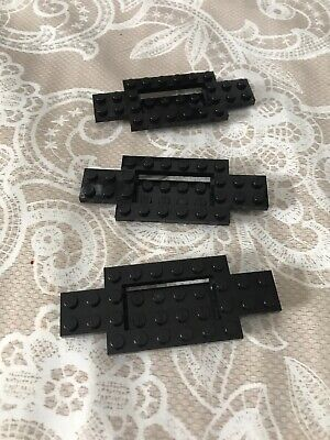 LEGO 4 x Fahrgestell Auto schwarz black chassis base 4x10x2//3 with 4x2 30029