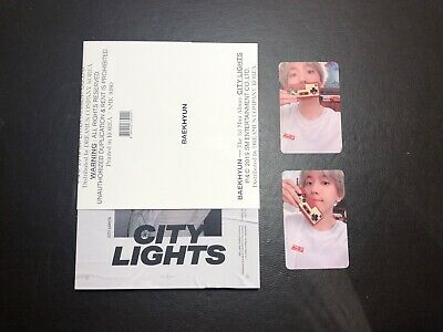 EXO BAEKHYUN 1st Mini Album CITY LIGHTS CD Day Ver. with Photocard SET