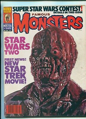 Famous Monsters #145 July 1978 / The Empire Strikes Back / Christopher Lee