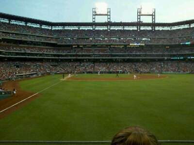 Phillies vs. Dodgers 2 Tickets  7/17
