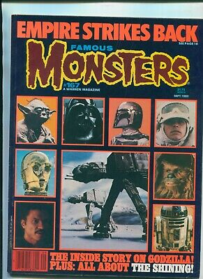 Famous Monsters #167 Oct 1980 / The Empire Strikes Back / The Shining / Godzilla