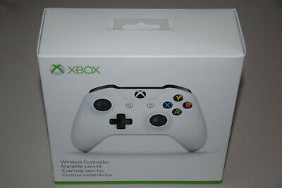 Microsoft Xbox One Wireless Bluetooth Controller Gamepad White TF500002 Mod 1708