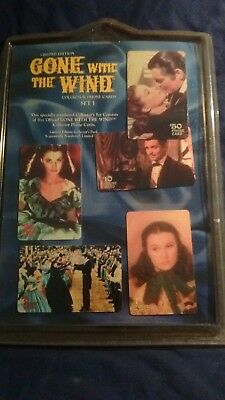 Gone With The Wind   Collector Set of 5 Phone Cards