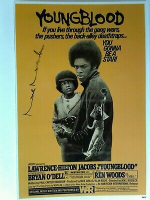 NOEL NOSSECK Hand Signed Autograph 4X6 Photo - YOUNGBLOOD DIRECTOR 1978 - RARE