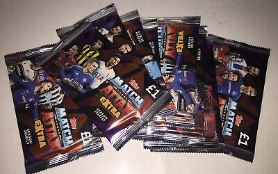 Match Attax Extra EPL 2018/19 Football Trading Cards 10x Packs New - Free Post