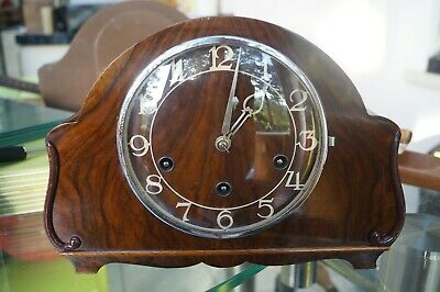 H.A.C. mantel clock.Westminster chime.SEE VIDEO.