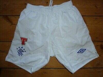 small Glasgow Rangers Football shorts Rangers Soccer Jersey Gers Tennents Umbro