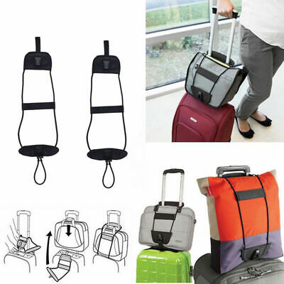 Travel Luggage Bungee Strap Suitcase Adjustable Backpack Carry Belt Tape Tie CHL