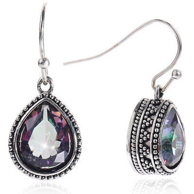 European And American Fashion Trend Jewelry Popular Retro Color Drop Earrings Ea