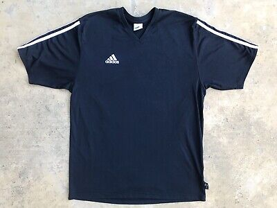 Vintage Adidas Trefoil T Shirt Men's Medium Black