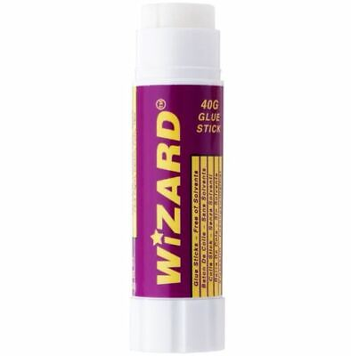 Wizard Glue Sticks Solvent Free Non-Toxic 10g 20g 40g Class Pack