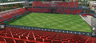 New York Red Bulls at Toronto FC Tickets 7/17/2019 Section 206 Row 24 $40